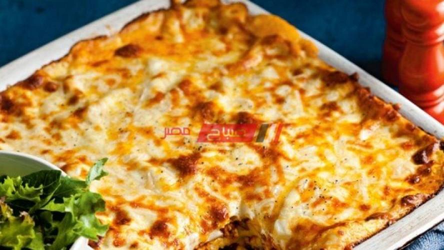 طريقة عمل الأرز البسمتى بفاهيتا الدجاج والجبنة الموتزاريلا