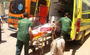 إصابة سائق جراء انقلاب سيارة مقطورة على طريق دمياط الجديدة
