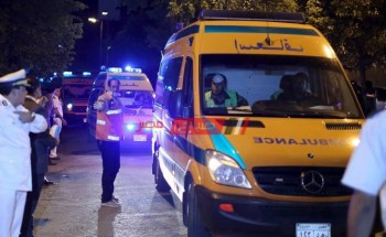 إصابة طفلة جراء سقوطها من الطابق الخامس في دمياط الجديدة