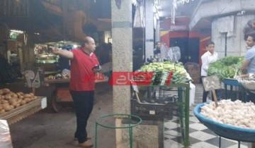 إستمرار الحملات اليومية على الأسواق والمحلات بمحافظة بورسعيد