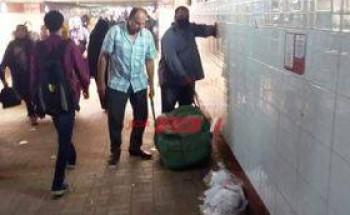 حملات يومية مكثفة لإزالة الدعايات الإنتخابية من على جدران المنشأت الحكومية فى الشرقية