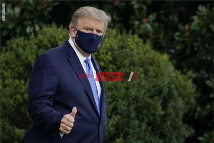 خروج ترامب من المستشفى يثير الجدل فى المجتمع الامريكى