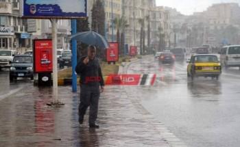 تساقط أمطار متوسطة علي السواحل الشمالية غدا وانخفاض درجات الحرارة