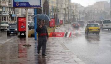 تساقط أمطار متوسطة علي غرب الإسكندرية