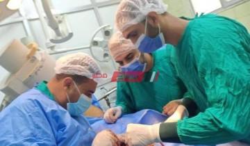 جراحة عاجلة ومتقدمة للوجه والفكين والعظام بمستشفي فاقوس النموذجي بالشرقية