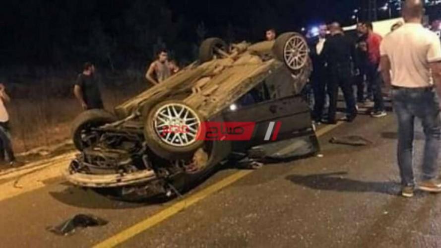 إصابة 3 طلاب أثر حادث تصادم مرورى فى الشرقية