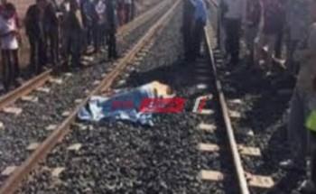 مصرع شخصين جراء حادثى قطارين فى بنى سويف