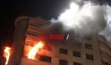 نشوب حريق بشقة بالجيزة ومعاينة سبب الحادث