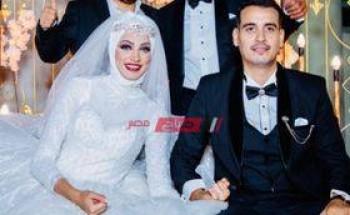 حسام داغر يهنئ سليمان عيد بحفل زفاف ابنته