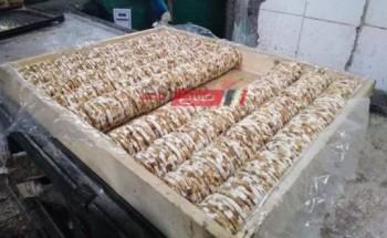 حملة تموينية بالقليوبية تضبط 6.200 طن حلوى المولد منتهية الصلاحية