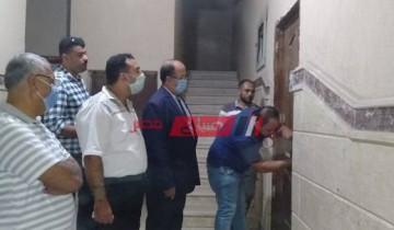بالصور حملات مكبرة لغلق السناتر التعليمية بحي المنتزه في الإسكندرية