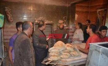 تموين الغربية يضبط 11 مخالفة تموينية بعدد من المخابز في حملة مكبرة