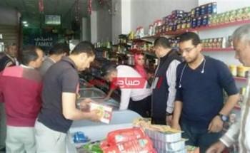 حملة بالشرقية تسفر عن ضبط مخزن مواد غذائية بدون ترخيص