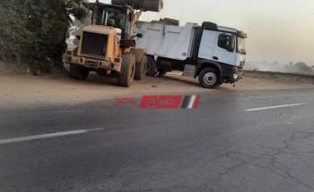 شن حملات نظافة مكثفة ورفع أكثر من ٣٠٠ طن مخلفات من مدن ومراكز الغربية