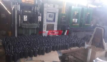 حملة بالغربية تسفر عن ضبط مصنع قطع غيار سيارات مجهولة المصدر في السنطة