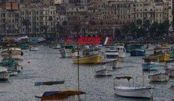 طقس غائم علي الإسكندرية الآن وانخفاض في درجات الحرارة