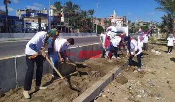 إنطلاق فعاليات مبادرة مصر الجميلة بمديرية الشباب والرياضة بمحافظة دمياط