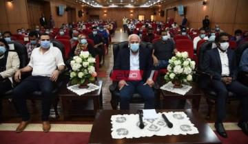 محافظ بورسعيد يفتتح فعاليات الملتقى الثقافى الخامس لشباب المحافظات الحدودية