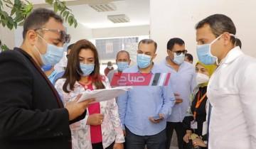 محافظ دمياط تزور قرية شط جريبة لمتابعة أعمال حملات النظافة وتتفقد مدرسة الشهيد أحمد حسن الجنيدى