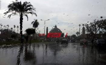 الأرصاد الجوية تحذر من رياح باردة وأمطار خفيفة علي السواحل الشمالية غدا الخميس