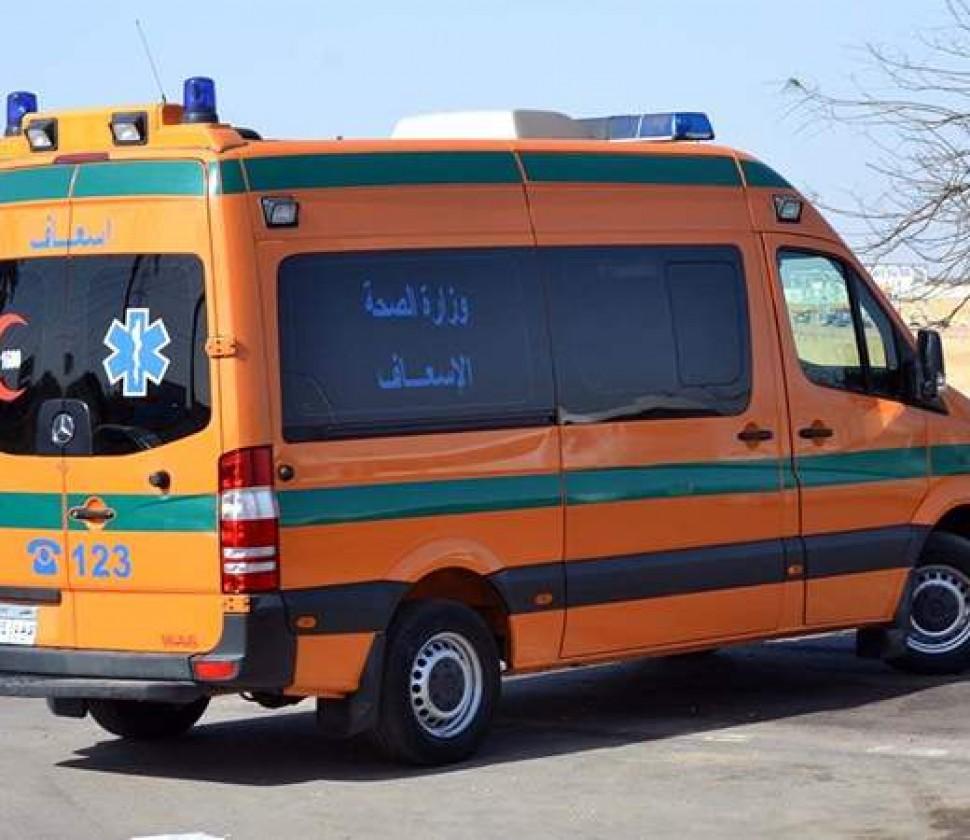 تفاصيل إصابة 14 شخصاً فى حادث مروع بقنا