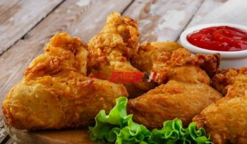 طريقة عمل الدجاج البروستد المقرمش فى المنزل كالمطاعم
