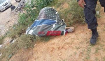 التفاصيل الكاملة .. كشف ملابسات العثور على جثة مسن ملقاه على طريق كورنيش النيل في دمياط