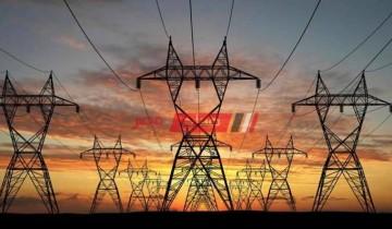 فصل تيار كهرباء محطة سمنود في شرق الغربية