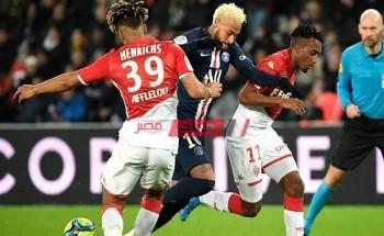 نتيجة مباراة باريس سان جيرمان وموناكو الدوري الفرنسي