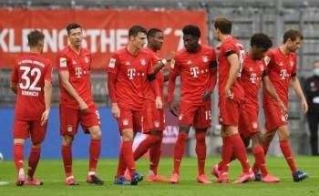 نتيجة مباراة بايرن ميونيخ وريد بول سالزبورغ اليوم دوري أبطال أوروبا