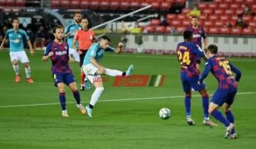 مباراة برشلونة وأوساسونا اليوم الدوري الإسباني