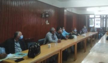 اجتماع وكيل الصحة بالقليوبية لمناقشة الاستعدادات للتصدي للموجة الثانية من كورونا