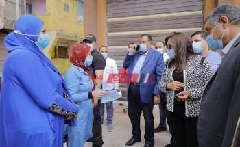 بتكلفة 44 مليون جنيه .. محافظ دمياط تتفقد مشروع الإسكان الاجتماعى بمدينة عزبة البرج