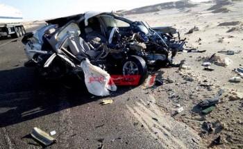 إصابة 6 أشخاص إثر في حادثتين تصادم في الوادي الجديد