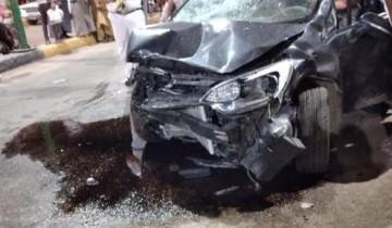 حادث تصادم بين سيارتين ملاكى فى الشرقية يسفر عن إصابة 5 أشخاص