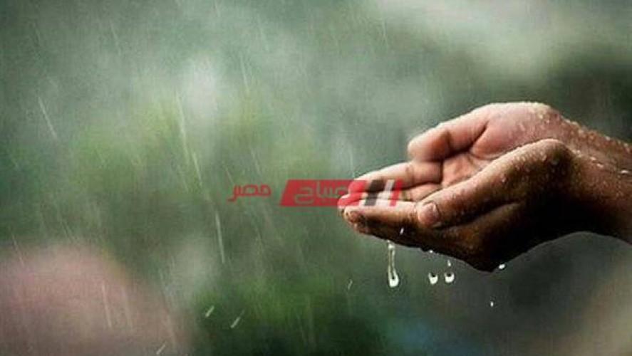 دعاء المطر وسماع الرعد الأدعية المأثورة عن النبي