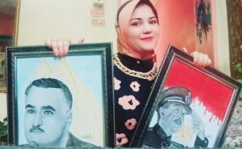 """نجاحات وإبداعات وتكريمات رحلة """"عزة"""" مع الرسم"""