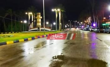 أمطار رعدية ورياح نشطة غداً الأربعاء في دمياط مع طقس غائم كلياً