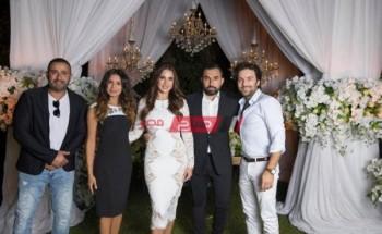 أحمد السقا أبرز الحاضرين حفل زفاف درة |التفاصيل