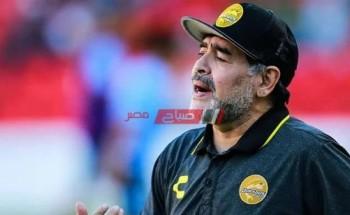 أحمد فهمي ينعي لاعب كرة قدم الأرجنتيني مارادونا
