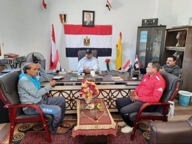 عقد مباريات دوري مراكز الشباب النسخة الثامنة بشمال سيناء