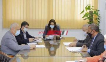 محافظ دمياط تعقد إجتماعا مع المتقدمين لوظائف قيادية