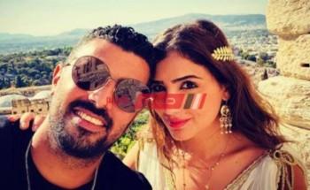 مي عمر تحتفل بعيد ميلاد زوجها محمد سامي بهذه الطريقة