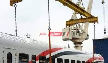 ميناء الإسكندرية يستقبل اليوم عربات سكة حديد جديدة قادمة من روسيا