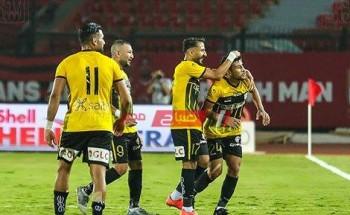 نتيجة وملخص مباراة الانتاج الحربي وإنبي الدوري المصري