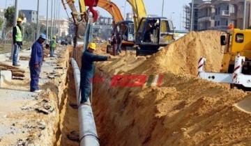 استئناف العمل بـ مشروع توصيل الغاز الطبيعي في أسوان الجديدة