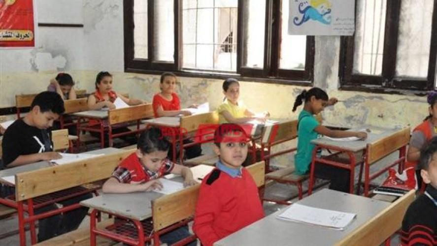 متوفر جدول امتحانات الصف السادس الابتدائي محافظة القاهرة الترم الأول 2021