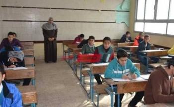 جدول امتحانات الترم الأول للابتدائي 2021 محافظة سوهاج وزارة التربية والتعليم