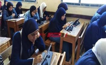 'الان' جدول امتحانات الصف الثالث الاعدادي الترم الاول 2021 محافظة الجيزة