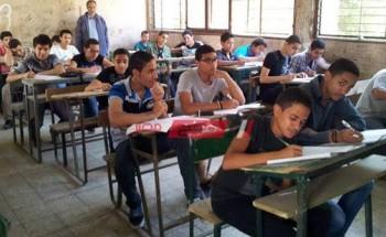 جدول امتحانات محافظة أسيوط الترم الأول 2021 المرحلة الإعدادية موعد بداية ونهاية الامتحانات